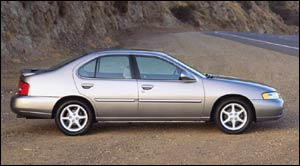 2000 Nissan altima gxe specifications #8