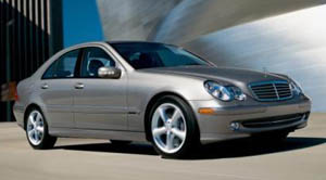 2004 mercedes c class sedan specifications car specs. Black Bedroom Furniture Sets. Home Design Ideas