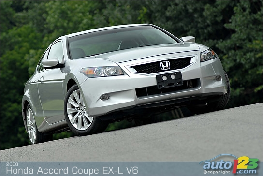 Honda Accord Coupe 2001. 2008 Honda Accord Coupe