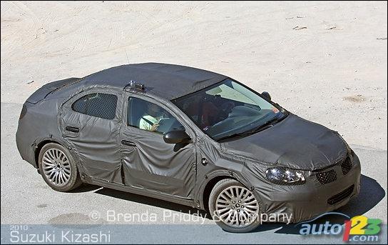 2010 Suzuki Kizashi spied! Suzuki (3 photos)