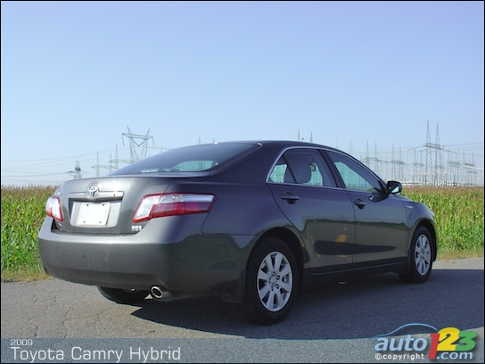 2009 toyota camry hybrid review yorkdale toyota. Black Bedroom Furniture Sets. Home Design Ideas