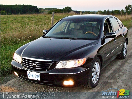 hyundai azera 2008  World Activity
