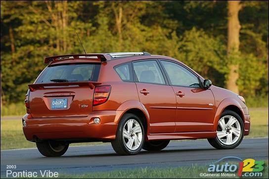 2003-2008 Pontiac Vibe Pre-Owned