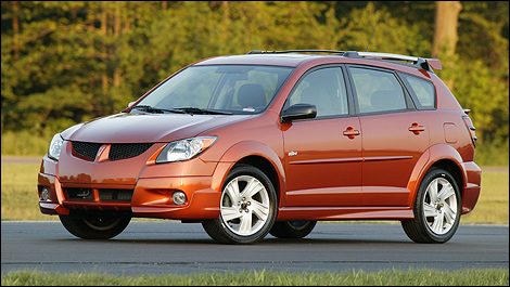 planet d 39 cars 2003 pontiac vibe. Black Bedroom Furniture Sets. Home Design Ideas