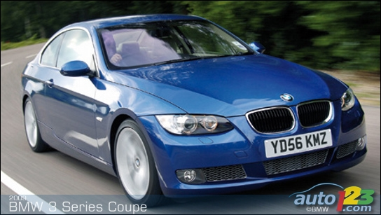 bmw 3 series coupe 2009. BMW 3-Series