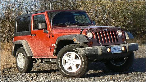 jeep wrangler x 2009 essai routier nouvelles auto123. Black Bedroom Furniture Sets. Home Design Ideas
