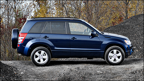 The Grand Vitara is a well-built vehicle that can rival the more popular