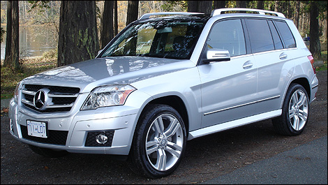 Mercedes Glk. The GLK is narrower,