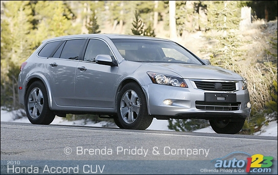 Scoop : Honda Accord CUV 2010!