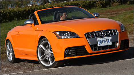 2009 Audi Tts Coupe. 2009 Audi TTS Roadster First