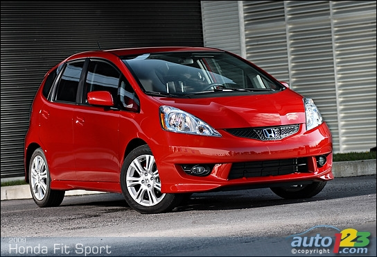 2009 Honda Fit. 2009 Honda Fit Sport Review