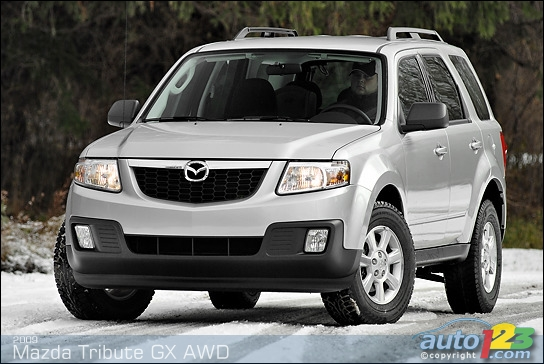 2009 mazda tribute gx i4 awd review spinelli mazda. Black Bedroom Furniture Sets. Home Design Ideas