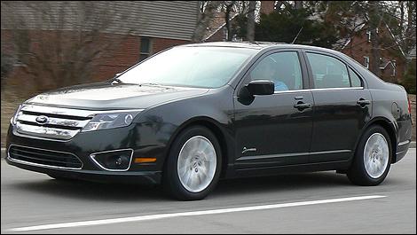2010 Ford Fusion Hybrid Elegant Car