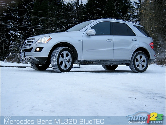 Auto123 new cars used cars auto shows car reviews for 2009 mercedes benz ml320 bluetec