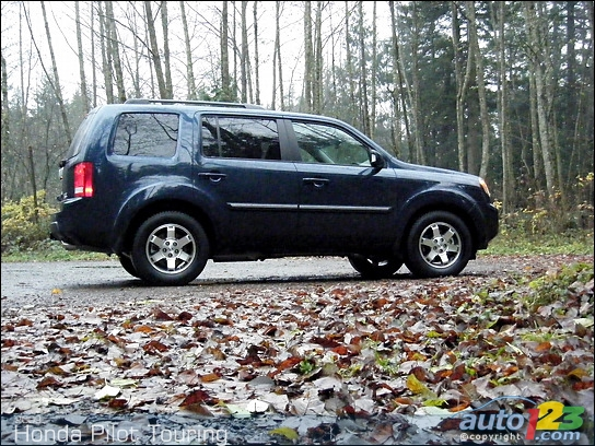 2009 honda pilot touring review circuit ford lincoln. Black Bedroom Furniture Sets. Home Design Ideas