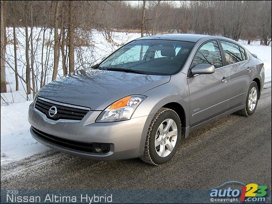 Nissan Altima Hybrid Specs