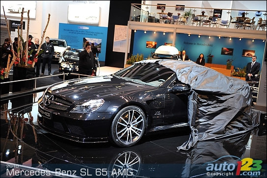 Mercedes Benz Amg Black Series. 2010 Mercedes-Benz SL65 AMG