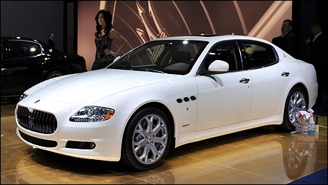 Maserati Quattroporte Sport GT S at the Toronto Auto Show - Car News |