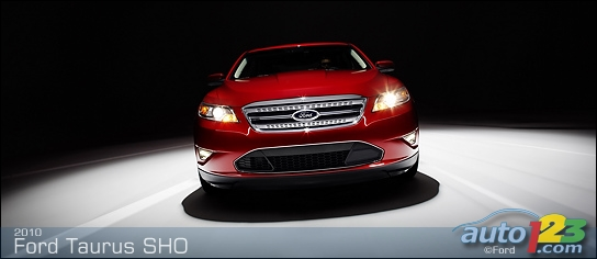 ford taurus sho 2009. of the Ford Taurus SHO