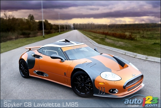 Spyker C8 Laviolette and LM85 to be presented at Geneva