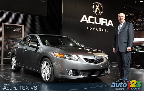 A V6 mill for the 2010 Acura TSX