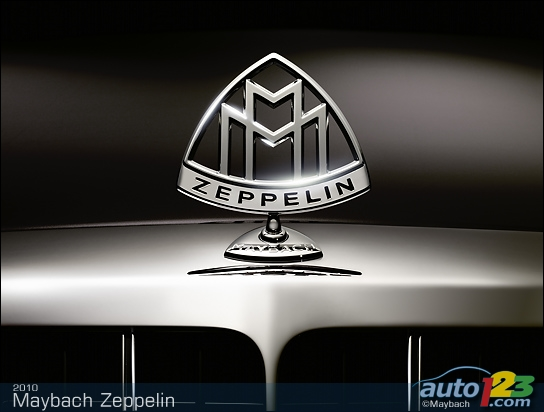 Maybach reintroduces the name Zeppelin