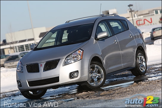 2009 Pontiac Vibe AWD Review