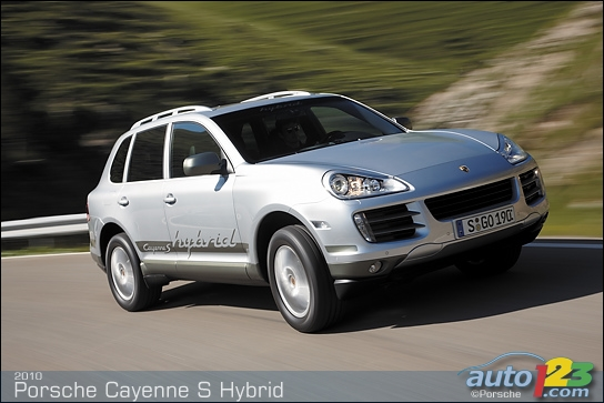 2010 Porsche Cayenne S Hybrid. on the Cayenne S Hybrid