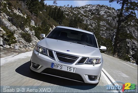 2010 Saab 9-3 Aero