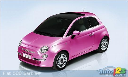 2009 Fiat 500 Barbie Concept. A Fiat 500