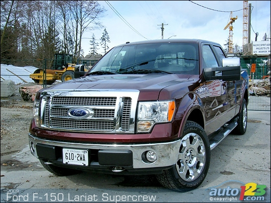 4x4 ford. 2009 Ford F-150 Lariat 4X4