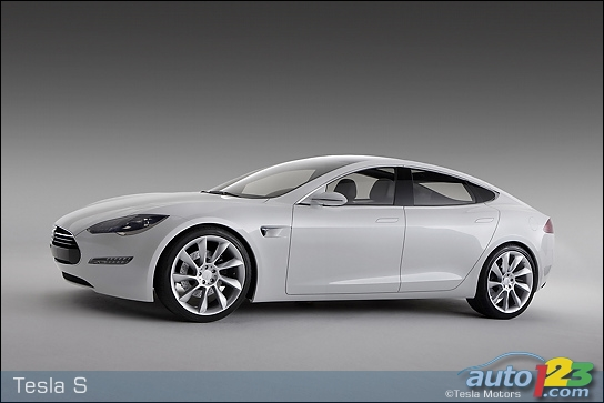 Tesla Motors Sedan. Tesla Motors