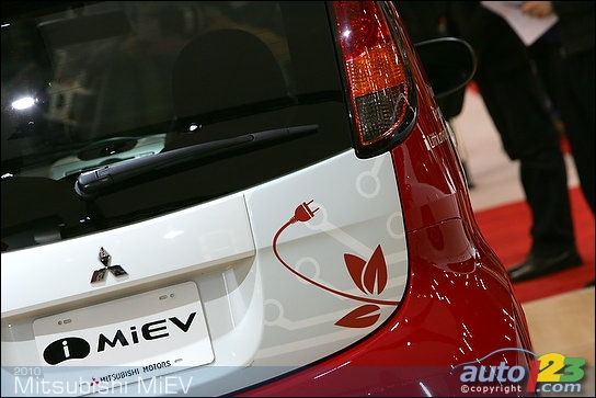2010 Mitsubishi iMiEV at the Vancouver Auto Show