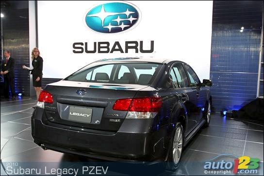 Subaru Legacy 2010 Sti. 2010 Subaru Legacy