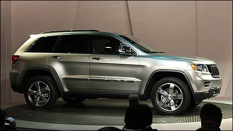 le jeep grand cherokee 2011 pr sent aux new yorkais nouvelles auto123. Black Bedroom Furniture Sets. Home Design Ideas