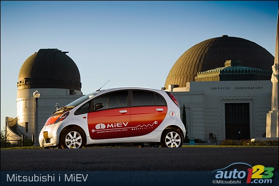 Mitsubishi i MiEV Gets Green Light for US Test Program