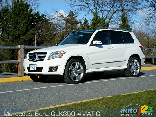 List of car and truck pictures and videos auto123 for 2010 mercedes benz glk 350 reviews