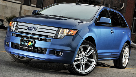Ford Edge 2009. The 2009 Ford Edge Sport is