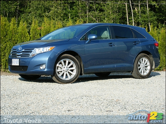 all about cars  toyota venza