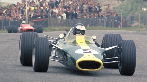Dunlop Racing Auto Racing Tires on Dunlop Tires Fitted On A Lotus 29 Ford Of 1963
