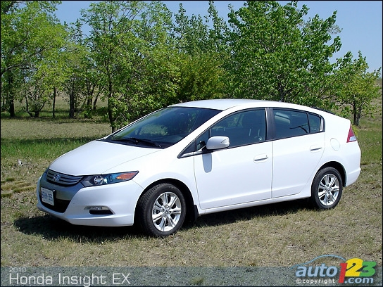 2010 Honda Insight EX Review
