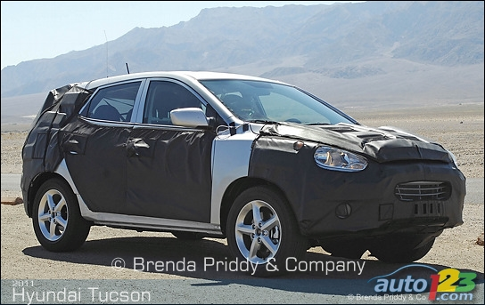 2011 Hyundai Tucson - First pictures!