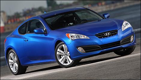 hyundai scoupe. 2010 Hyundai Genesis Coupe