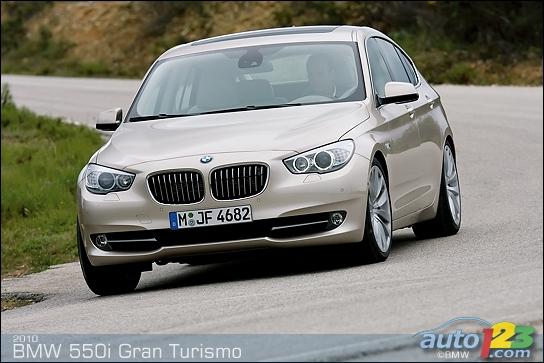 2010 BMW 550i Gran Turismo First Impressions