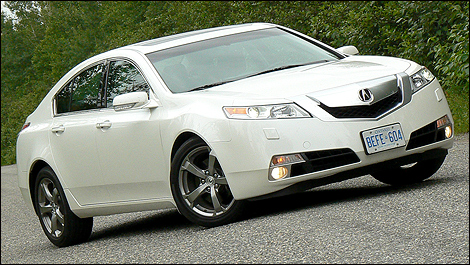 2009 Acura TL SH-AWD Tech Review (video) Editor's Review | Page 1 ...