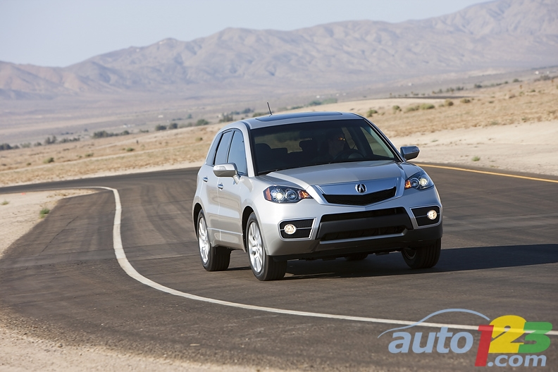 For 2010, Acura RDX Receives Numerous Upgrades