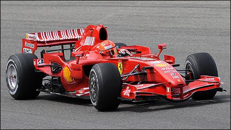 Schumacher 2013 f1 Schumacher Drove a 2007 f1 Car