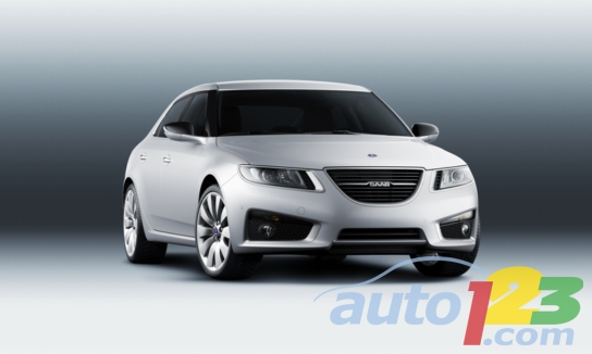 All new Saab 9-5 sedan:   start of a new era for Saab
