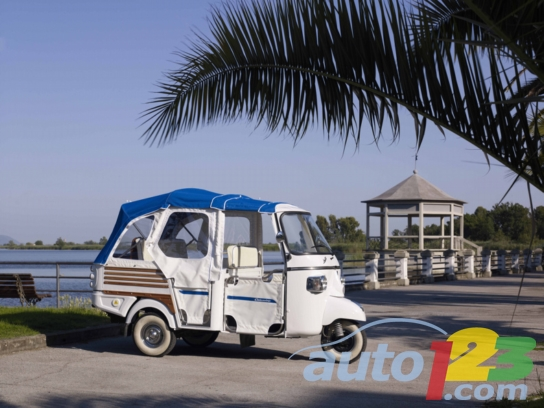 Piaggio Ape Calessino Electric Lithium: an electrifying Dolce Vita!
