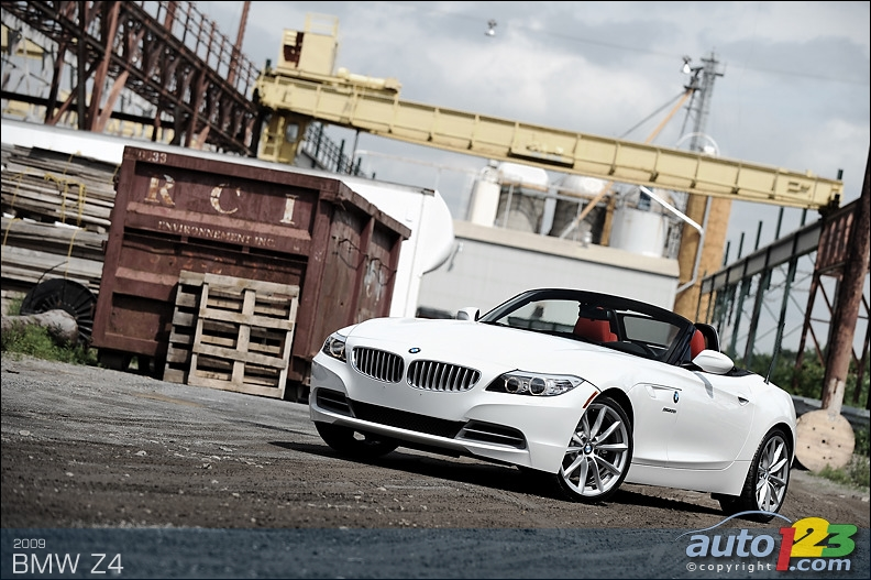 bmw z4 2009. 2009 BMW Z4 sDrive35i Review